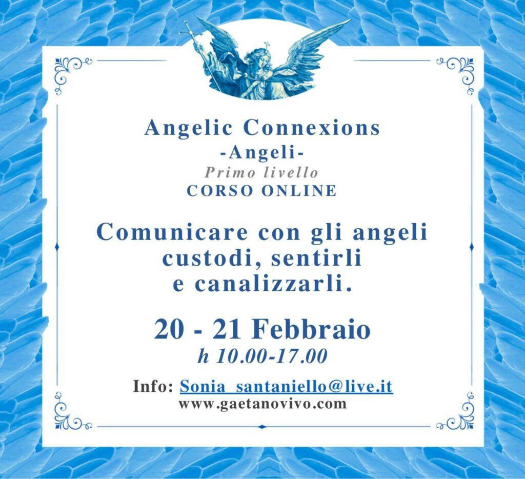 Corso Angelic Connexions 20 21 febbraio 2021