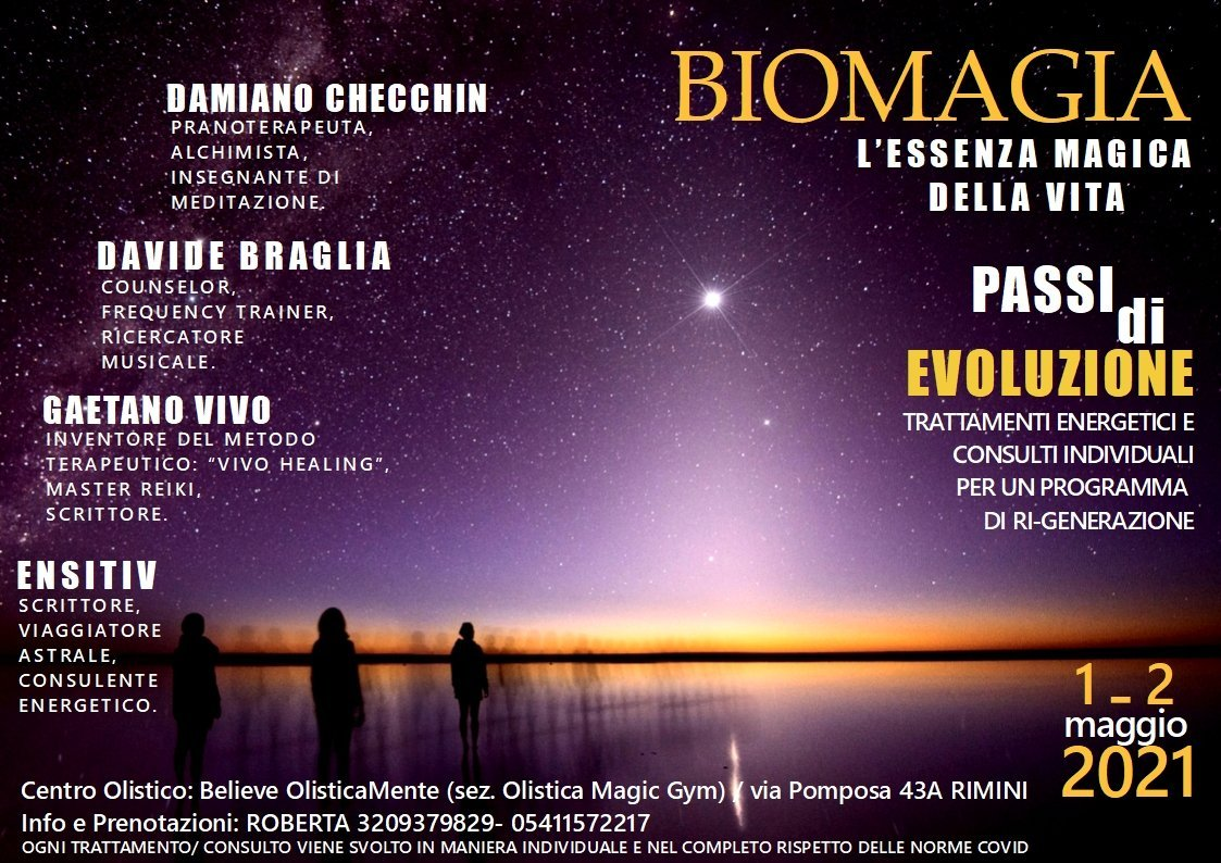 Bio Magia a Rimini con Ensitiv