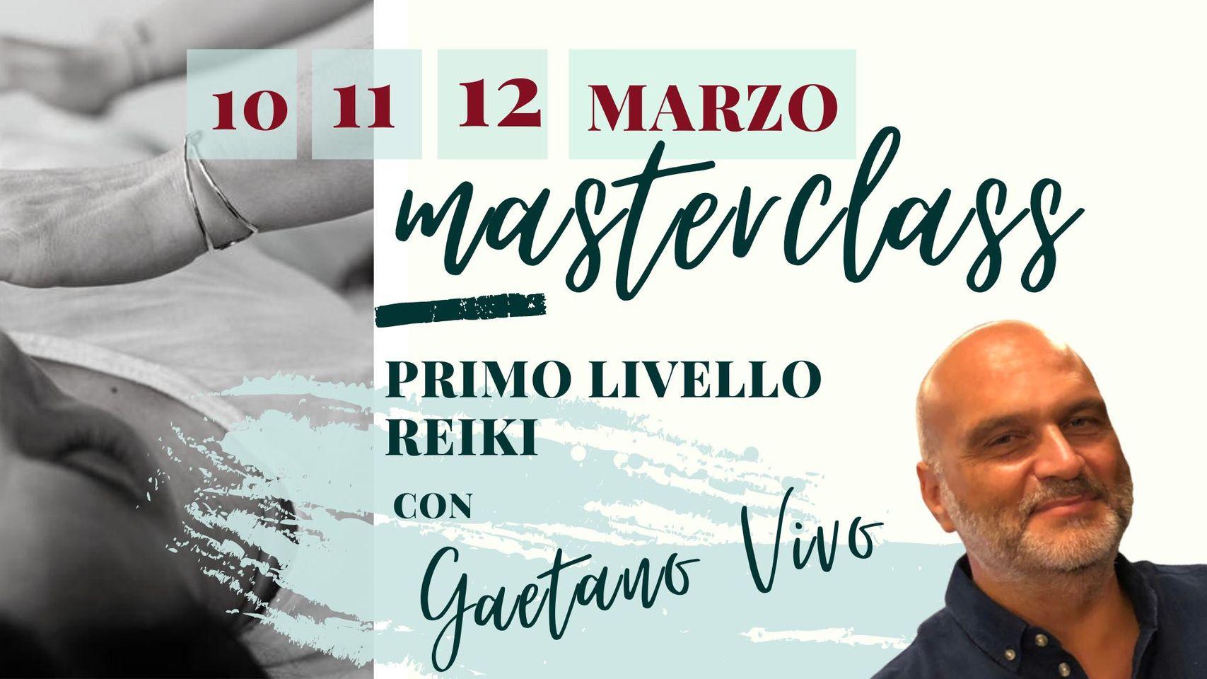 Masterclass primo livelo Reiki 10 12 marzo