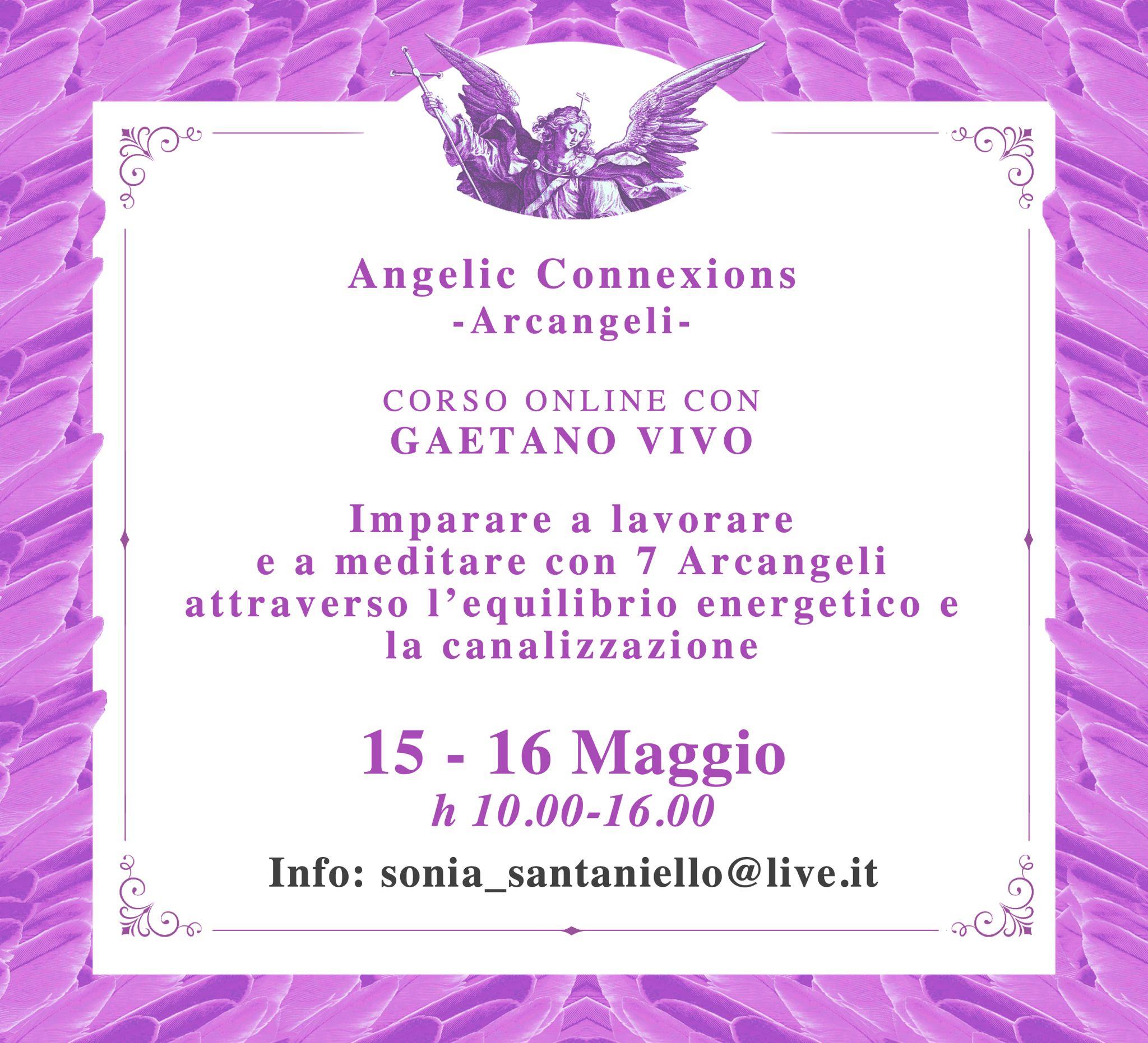 corso angelic connexions 15 16 maggio 2021